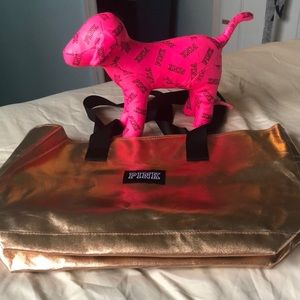 victoria secret dog and bag
